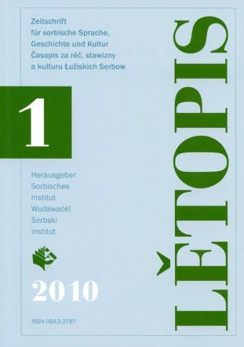 Lětopis 1/2010