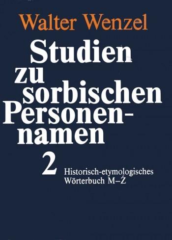 Studien zu sorbischen Personennamen