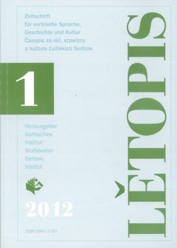 Lětopis 1/2012