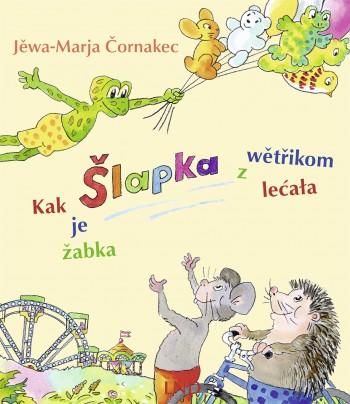Kak je žabka Šlapka z wětřikom lećała