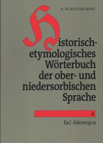 Historisch-etymologisches Wörterbuch der ober- und niedersorbischen Sprache 4
