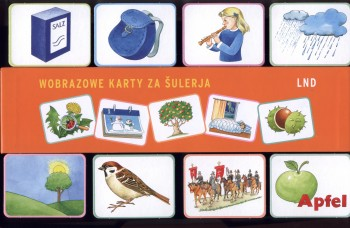 Wuknjemy serbsce 4, wobrazowe karty za šulerja