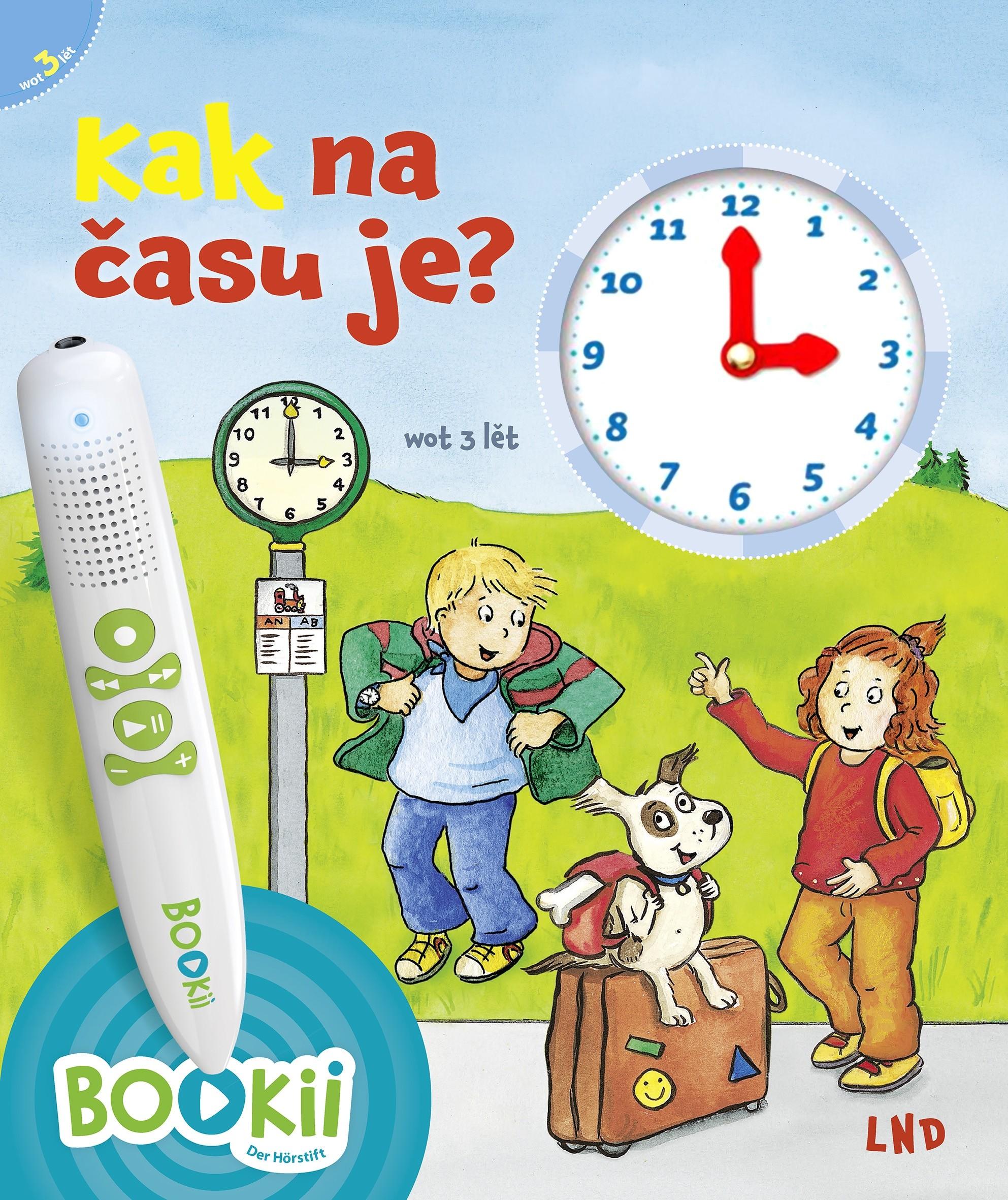 Kak na času je? • za słuchopisak BOOKii