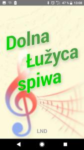 """App """"Dolna Łužyca spiwa"""" (Die Niederlausitz singt) erschienen"""