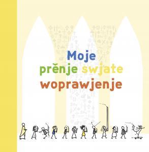 Erinnerungsalbum zur Erstkommunion in sorbischer Sprache
